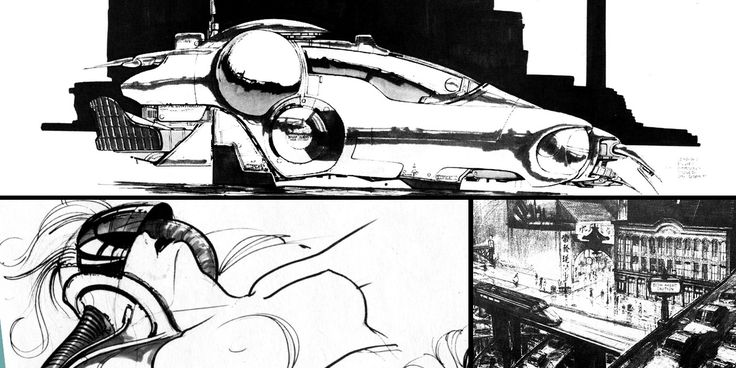 The+Art+of+Blade+Runner:+50++Original+Sketches+Collection