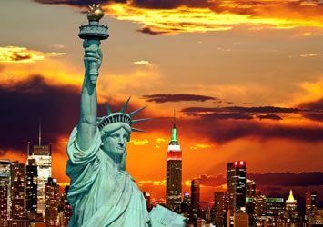 Statue of Liberty Lightshow NYC