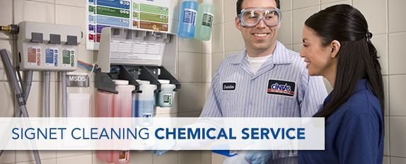Chemical Cleaning Services : Cleaning chemicals dispenser service