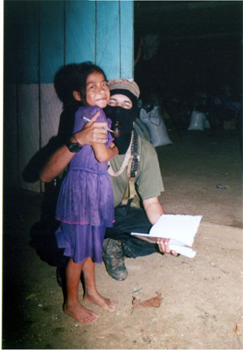 Subcomandante Marcos. What an amazing role model for children and adults alike.