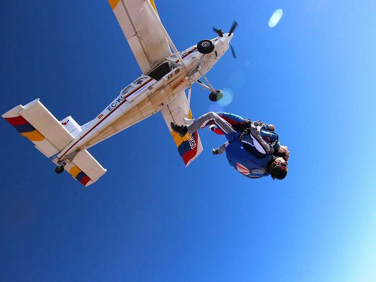 ¿Dónde hacer paracaidismo? 5 lugares para saltar cerca de CDMX - Dónde Ir - Dónde Ir