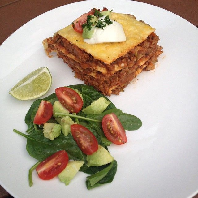 Here's a low-carb dinner idea everyone will love from Facebooker FlabULess NZ, using Gerry's Go Low Carb Wraps: Beef tortilla pie. For #WeightWatchers, that's 11pp.