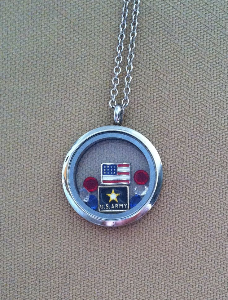 Army - South Hill Designs Locket