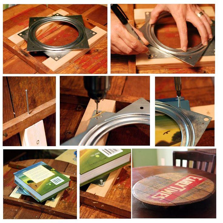Pantry With Lazy Susan: Lazy Susan Pantry Shelves Tower Storage DIY Video Tutorial