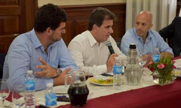 Ducoté se reunió con Ritondo, Burzaco y Milman por llegada de las fuerzas federales a Pilar