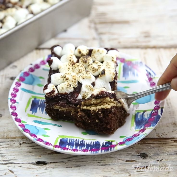 Yes, S'mores Cakes do exist and this one is Inside-Out of Bounds!