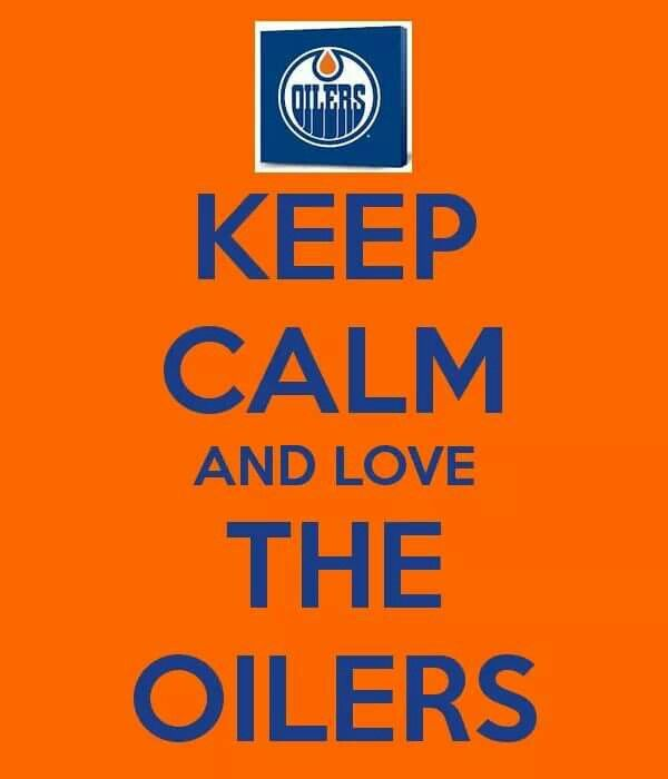 Keep calm and ❤️ the Oilers! Finally made it to the playoffs after 11 years!