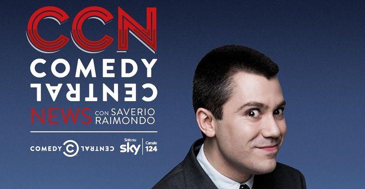 CCN con Saverio Raimondo torna dal 7 marzo su Comedy Central (canale 124 di SKY) Dopo il successo di pubblico e critica della scorsa stagione torna, da lunedì 7 marzo alle 23.00 su Comedy Central (in esclusiva su Sky al canale 124), il canale di VIMNI dedicato all'intrattenimento e alla comicità, la seconda stagione di