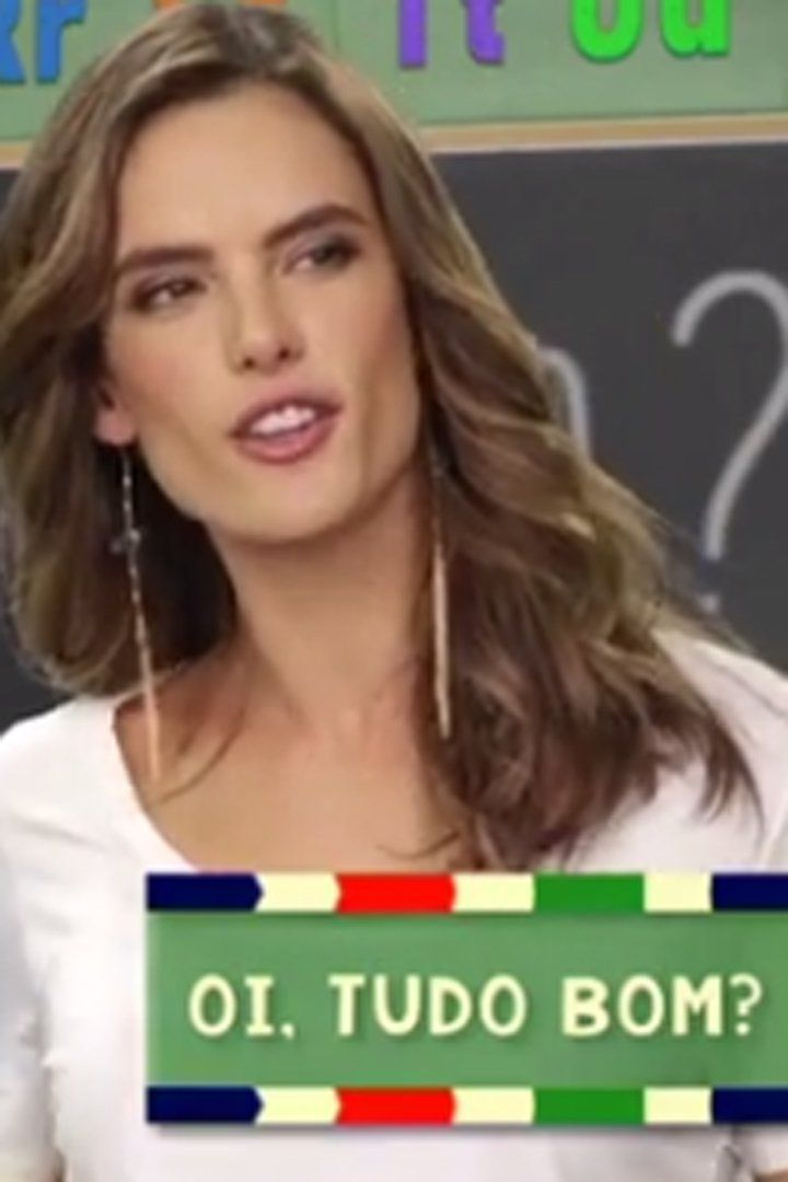 Pin for Later: Watch Alessandra Ambrosio Try Her Best to Teach Team USA How to Speak Portuguese