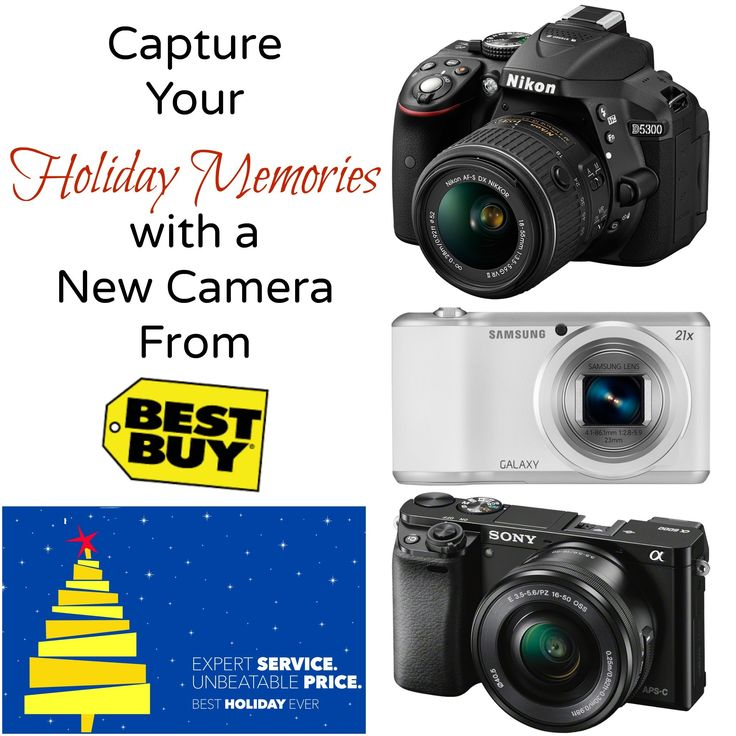 Don't miss any precious holiday memories. Get a new camera from the Best Buy Gift Center and capture every priceless moment. #CamerasAtBestBuy