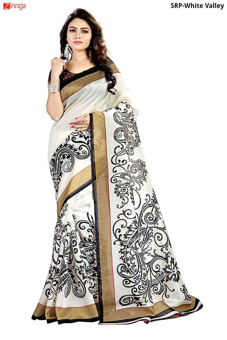 Women's Beautiful Bhagalpuri Cotton Silk Saree   #sarees #fashion #designer #newarrival #zinngafashion #popular #new #nicelook
