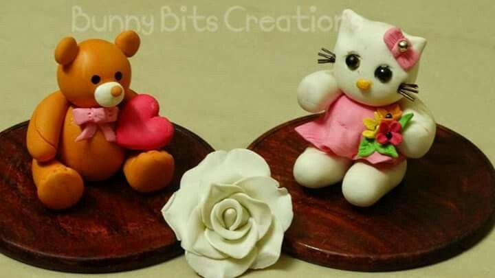 Clay Decorative pieces