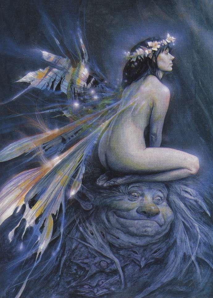 Risultati immagini per sidhe mitologia celtica