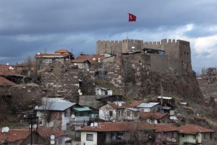 Ankara Castle in Ankara, Turkey  Turkey  Pinterest