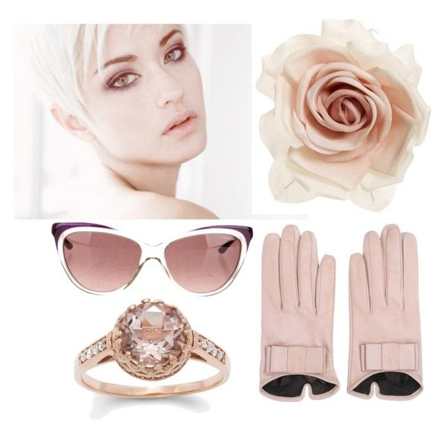 Think pink by stefania-fornoni on Polyvore featuring polyvore, fashion, style, Cara, Mario Portolano and Yves Saint Laurent