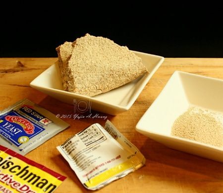 Leavening agent VS Active dry yeast  A leavening agent: (ˈlɛvənɪŋ/ leaven agent; ˈlɛvən),  also known as a raising agent, is any one of a number  of substances used in doughs and batters that causes  a foaming action that lightens and softens.   The leavening agent incorporates gas bubbles into the dough.  The alternative or supplement to leavening agents is mechanical leavening  by which air is incorporated by mechanical means.  Most leavening agents are synthetic chemical compounds,  but…