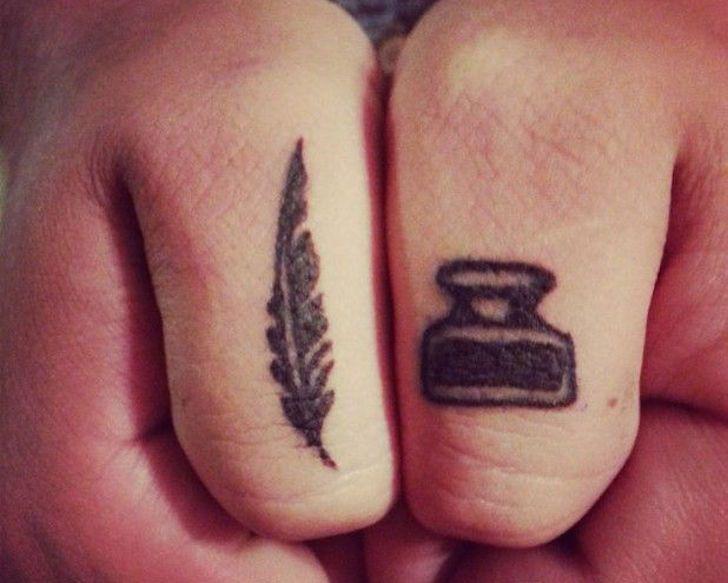 Tattoo Design Ideas for Writers | Tattoo.com                              …