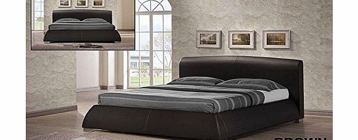 MODERN FURNITURE DIRECT MODENA DOUBLE OR KINGSIZE LEATHER DESIGNER BED FRAME BEDROOM FURNITURE (Kingsize, Brown) No description (Barcode EAN = 5060282279216). http://www.comparestoreprices.co.uk/leather-furniture/modern-furniture-direct-modena-double-or-kingsize-leather-designer-bed-frame-bedroom-furniture-kingsize-brown-.asp
