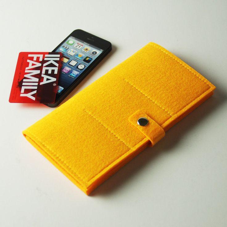 Passport Accessories Handmade Felt Passport Holder by feltk, $18.00