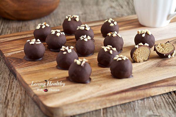 """Peanut"" Butter Truffles (grain, dairy, peanut free, paleo)"