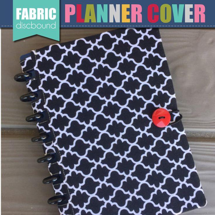 Discbound Planner Cover Quatrefoil Pattern by thepolkadotposie