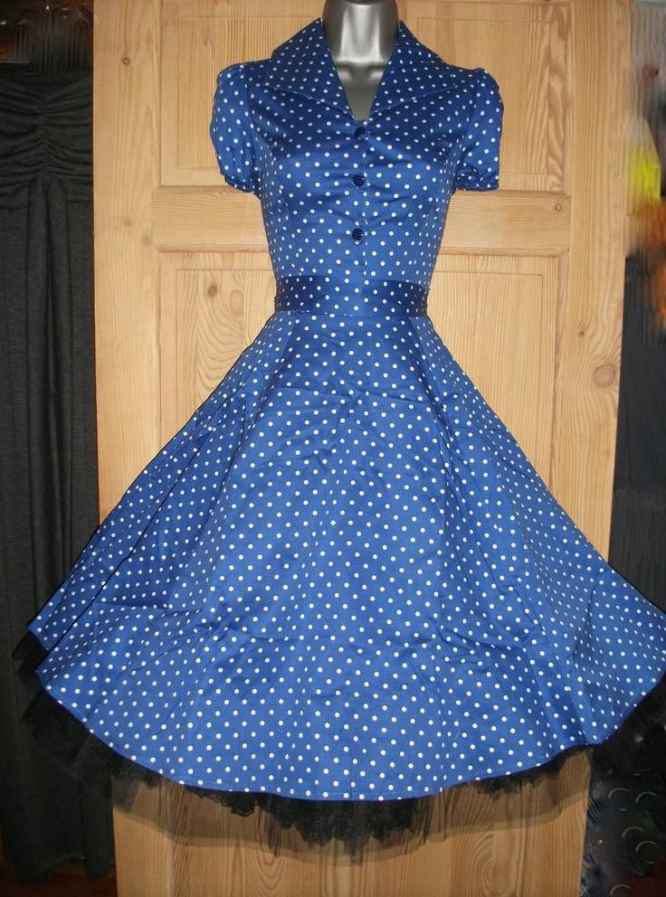 Blue & 1950s!