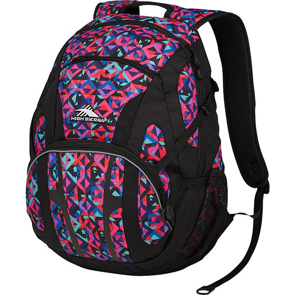 High Sierra Composite Backpack ($28) ❤ liked on Polyvore featuring bags, backpacks, black, school & day hiking backpacks, high sierra, rucksack bag, high sierra backpack, backpack bag y high sierra daypack