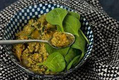 Porridge Salé au Curry [Vegan + Sans Gluten]