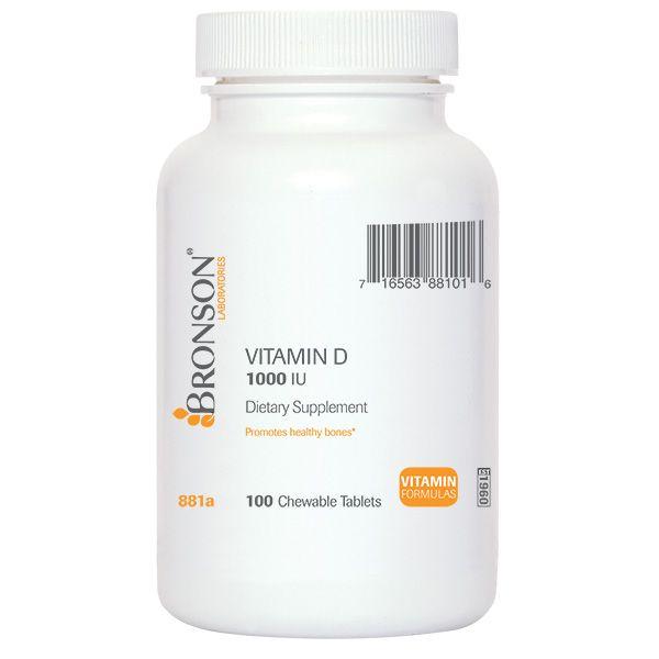 Chewable Vitamin D 1000 IU