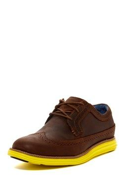 Mens Saddle Oxford Dress Shoes Images Two