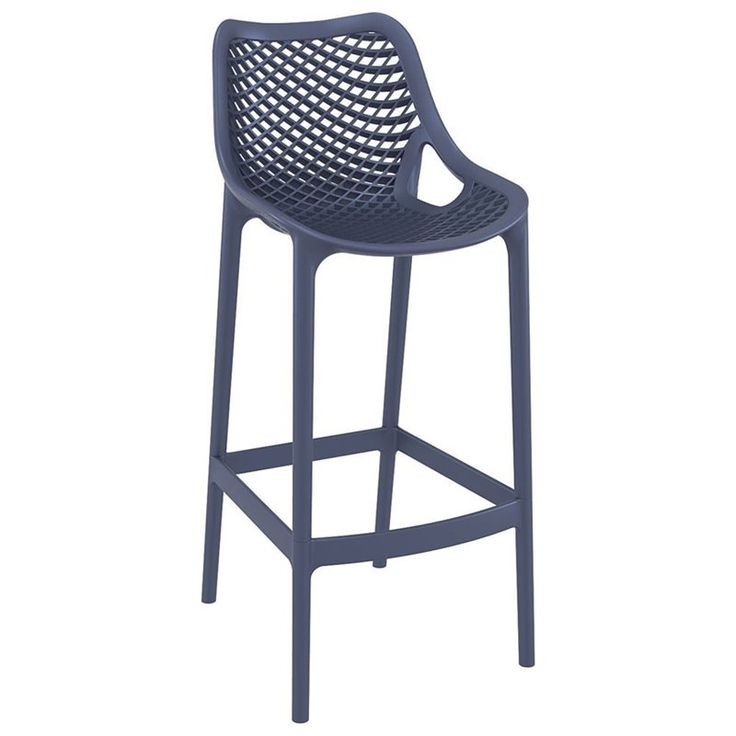 Lowest price online on all Compamia Air Patio Bar Stool in Dark Gray - ISP068-DGR $380 for 2