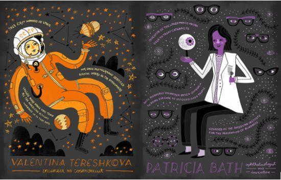 'Women In Science', de Rachel Ignotofsky  http://mujeresconciencia.com/2015/02/11/women-science-de-rachel-ignotofsky/