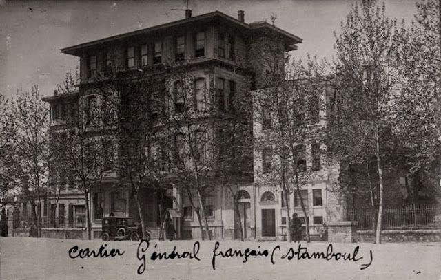 Fransız İşgal komutanının İstanbul-daki ikametgahı