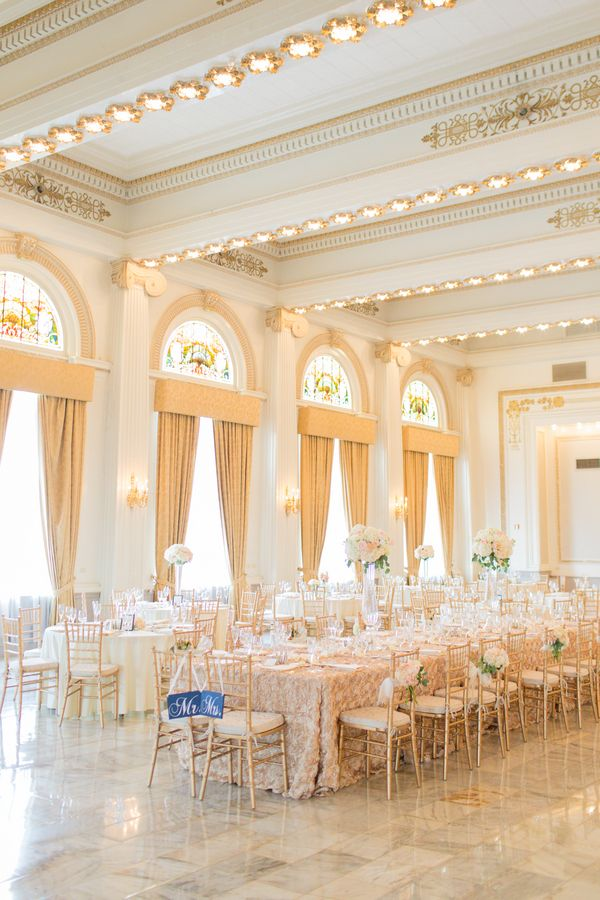 35 best images about gold wedding decor and fashion on for Elegant hotel decor
