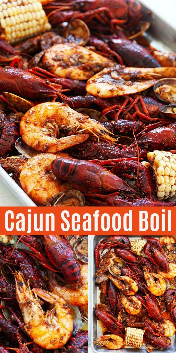 New Orleans Seafood Boil With Cajun Butter Sauce This Seafood Boil Recipe Is The Best Recipe You Ll Find Seafood Boil Recipes Cajun Seafood Boil Cajun Seafood