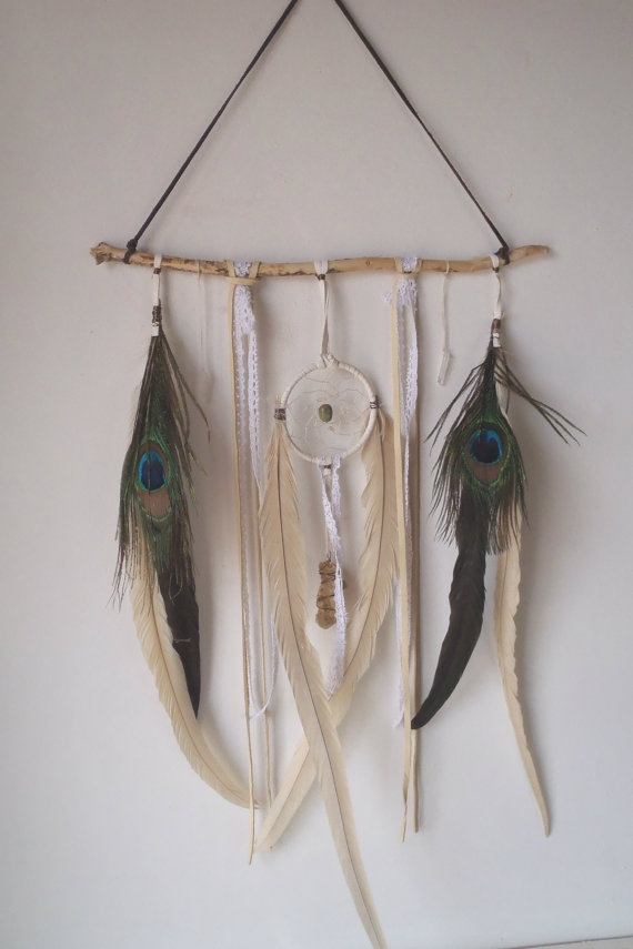 17 best images about feather dream catchers mobiles on for How to make a double ring dreamcatcher