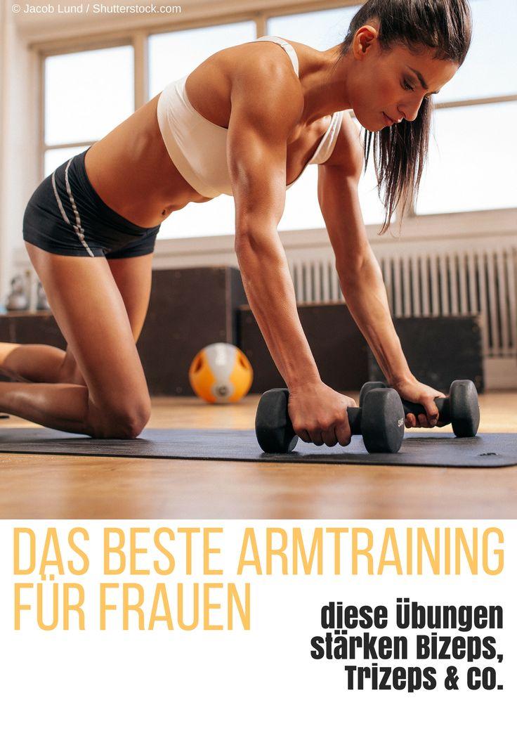 Trainierte Oberarme zählen mit zu den begehrtesten Fitnesszielen von Frauen. Aber wie sieht effektives Armtraining aus und was kann man gegen Winkearme tun? Hier erfahrt ihr es (Fitness Tips)