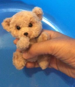 Cute Handmade Bear Toy OOAK 4 5 in by Artist Natalia Kaledina | eBay