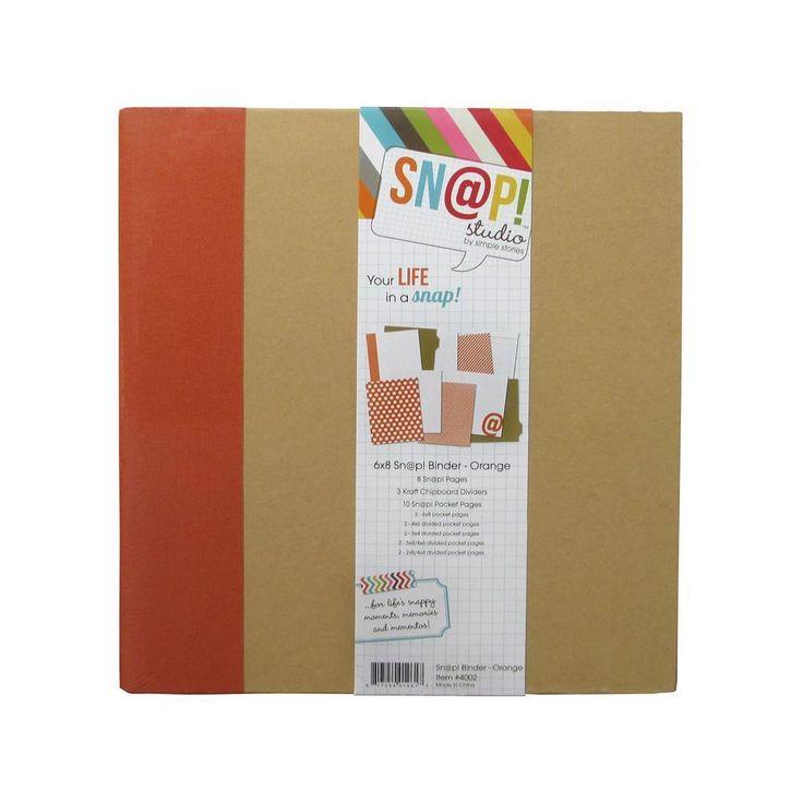Simple Stories Snap Binder 6x8