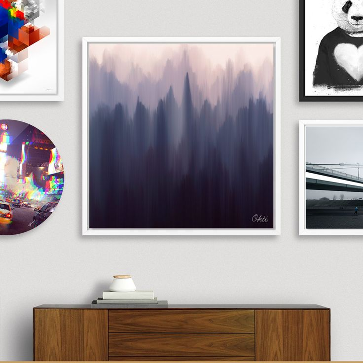 «Morning Fog», Numbered Edition Fine Art Print by Okti W. - From $20 - Curioos