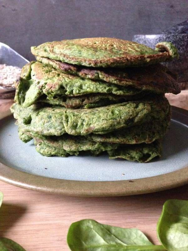 recept spinazie pannenkoeken door voedingsdeskundige Monique van der Vloed