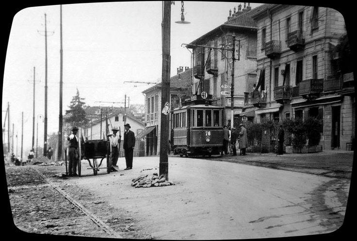 TORINO ,corso Casale , 1925