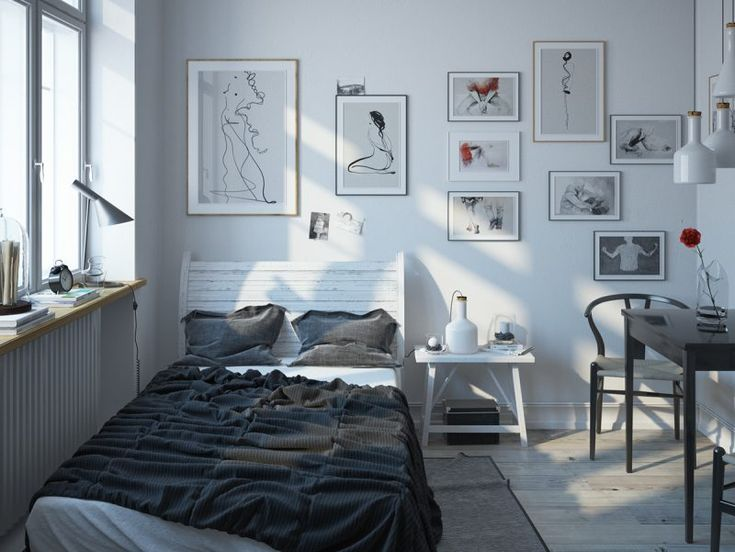 Die besten 25+ Weiß graue Schlafzimmer Ideen auf Pinterest - wohnzimmer einrichten grau weiss