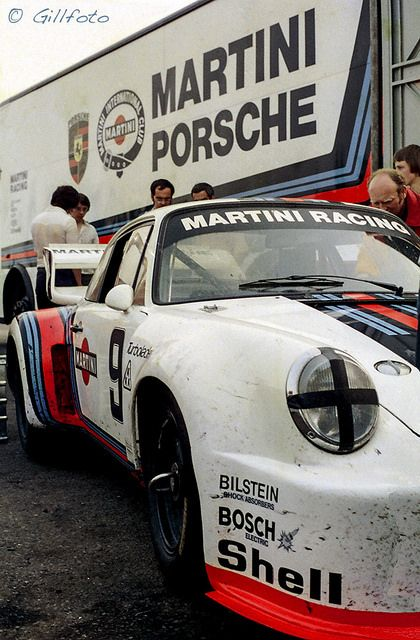 Time Wasting Machine - Porsche 935 in the Paddock by gillfoto on Flickr.