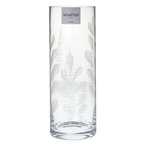 Buy MissPrint Home Garden City Vase Online at johnlewis.com
