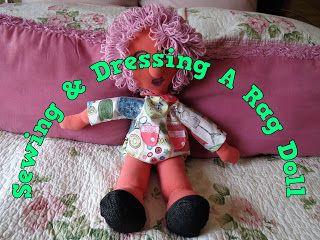 A Pretty Talent Blog: Sewing A Rag Doll Part 2