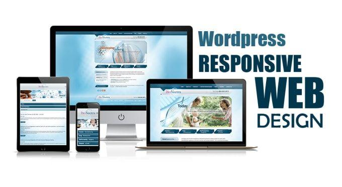 Create Responsive Wordpress Website Design In 2020 Wordpress Website Design Business Website Design Responsive Website Design