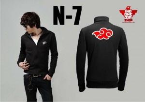 Jaket Naruto - Akatsuku Symbol / 215k / / 0857-0700-1011 / www.Indonesia-shop.com