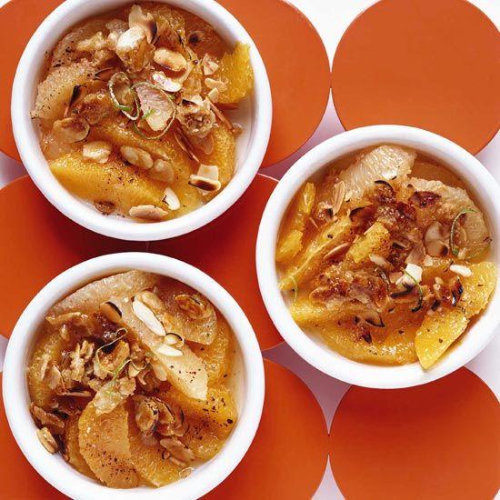 Citrus Gratin with Toasted Almonds // More 30-Minute Desserts: www.foodandwine.com/slideshows/30-minute-thanksgiving-desserts/1 #foodandwine
