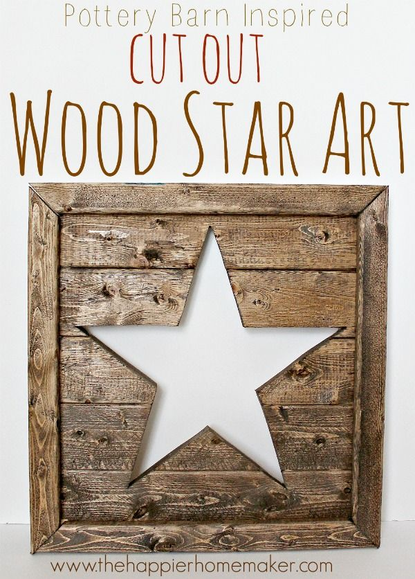 ohmygoodness I love this wood star-and the tutorial is SO easy I think I could do it!